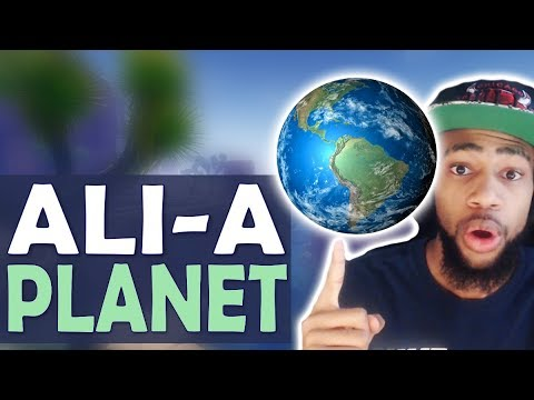 Daequan Tv Show Ali A Planet Trolling Fortnite Battle Roy